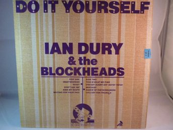 IAN DURY & THE BLOCKHEADS- DO IT YOURSELF  (LP / VINYL)