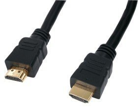 HDMI plug to HDMI plug , Goldplated (Cable-550G/1,5m)
