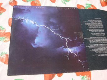 DIRE STRAITS - LOVE OVER GOLD LP 1982
