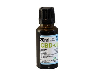 CBD olja Mynta 20 ml, 400mg CBD