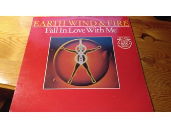 Earth wind & fire - Fall in love with me Maxi-singel