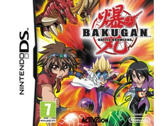 Bakugan Battle Brawlers - Nintendo DS