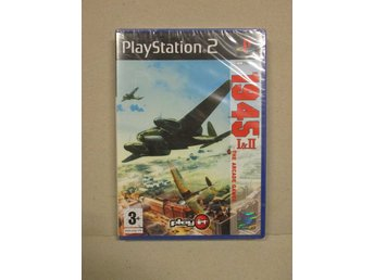 1945 I&II The Arcade Games - PLAYSTATION 2 (Komplett!)