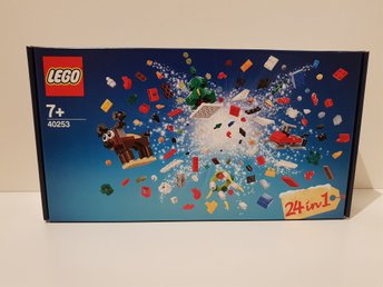 LEGO 40253, 24-IN-1 HOLIDAY COUNTDOWN SET FRÅN 2017!!!