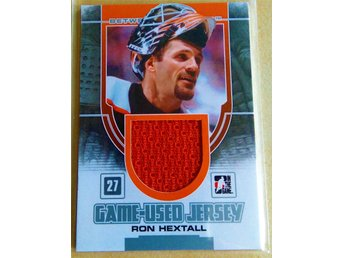 2013-14 Between the Pipes Game-Used Jersey Silver #32 Ron Hextall