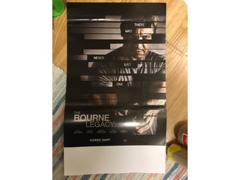 Bourne Legacy - Stolpaffisch