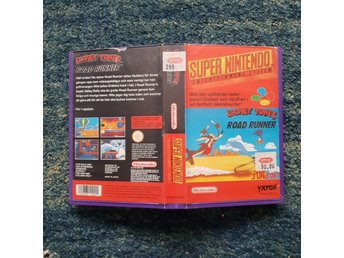 Looney Toons Road Runner  - Hyrbox - Super Nintendo Yapon SNES