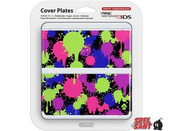 Nintendo New 3DS Cover Plates Splatoon (060)
