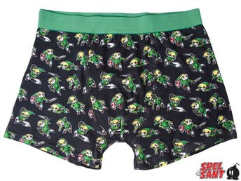 Nintendo The Legend of Zelda Link Boxer Shorts (Small)