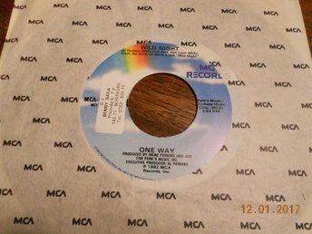 "ONE WAY - Wild night/One of us, 7"" MCA USA 1982 Funk - Gävle - ONE WAY - Wild night/One of us, 7"" MCA USA 1982 Funk - Gävle"