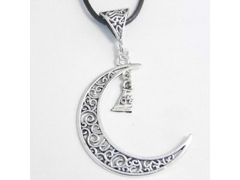Love måne halsband / Love moon necklace