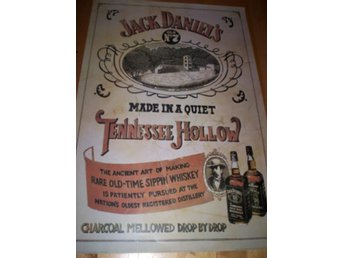 JACK DANIELS (poster, affisch) 61x91 cm TENNESSEE Whiskey