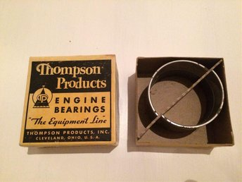 THOMPSON ENGINE BEARINGS I ORGINALKARTON I FINT SKICK