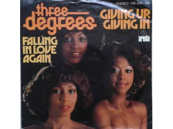 "Three Degrees title* Giving Up, Giving In* Disco 7"" Germany"