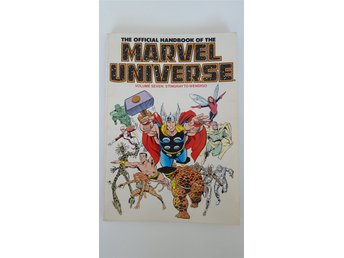 Official Handbook of the Marvel Universe Vol. 7 - Marvel Comics - Sköndal - Official Handbook of the Marvel Universe Vol. 7 - Marvel Comics - Sköndal