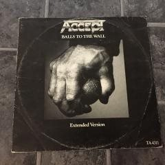 "ACCEPT - BALLS TO THE WALL .(EXTENDED VERSION 12"")"
