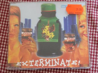 SNAP feat. Niki Haris - Exterminate CD Single 1992