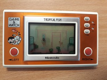"Nintendo, ""tropical fish"" 80 tal"