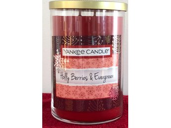 Yankee Candle. Holy Berries & Evergreen! Stor burk!