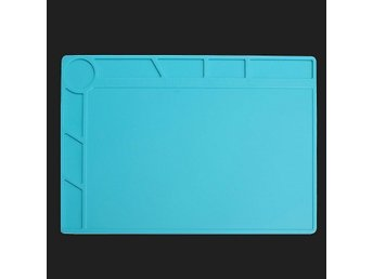 Heat Resistant Silicone Pad Desk Mat Maintenance Platform Insulation Station