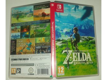 The Legend of Zelda Breath of the Wild till Nintendo Switch! Passa på! 1kr