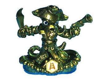 Skylanders Swap Force: Gold Wash Buckler Nintendo PlayStation Xbox PS3 Wii