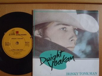 Dwight Yoakam Honky Tonk Man   rare UK  45