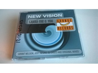 New Vision ‎- (Just) Me And You, CD, Single