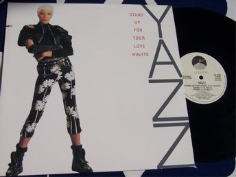"YAZZ - STAND UP FOR YOUR LOVE RIGHTS 12"" 1988 PROMO USA"