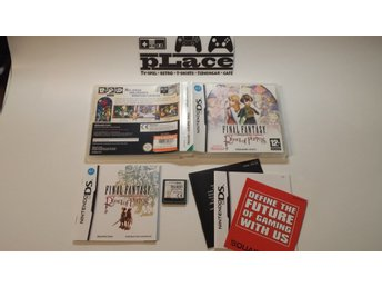 Final Fantasy: Ring of Fates Nintendo DS