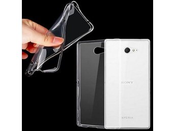 Sony Xperia M2 Silikon Transparent Färg: Transparent