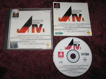 AIV EVOLUTION GLOBAL PLAYSTATION ONE RETRO