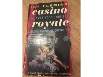 Ian Fleming Casino Royale - Eslöv - Ian Fleming Casino Royale - Eslöv