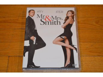 MR & Mrs Smith ( Angelina Jolie Brad Pitt ) DVD Inplastad - Töre - MR & Mrs Smith ( Angelina Jolie Brad Pitt ) DVD Inplastad - Töre