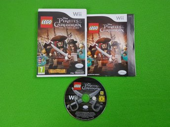 Lego Pirates of the Caribbean SVENSK UTGÅVA Nintendo Wii