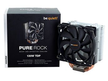Be Quiet! Pure Rock CPU kylare, Socket 115x/AM4, 1500 RPM