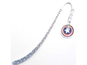 Captain America bokmärke / bookmark