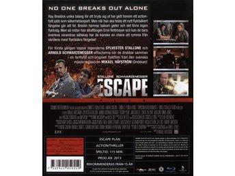 Bluray - Escape Plan - Hyssna - Bluray - Escape Plan - Hyssna