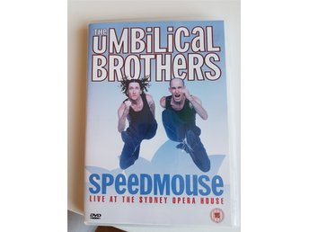 DVD film The Umbilical Brothers Speedmouse Live at The Sydney Komedi Stand Up - Stockholm - DVD film The Umbilical Brothers Speedmouse Live at The Sydney Komedi Stand Up - Stockholm