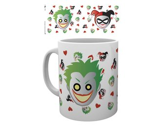 Mugg - DC Comics - Harley Quinn and Joker Emoji (MG1890)