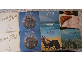 Paket med 8 lp-Classic Rock ( London symf) + Zamfir