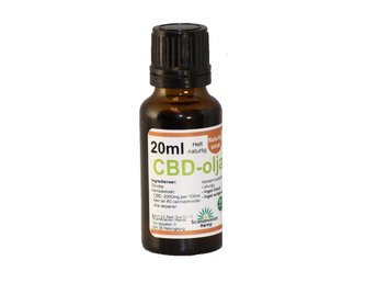 CBD olja 20 ml oliv, 400 mg Cannabinoider