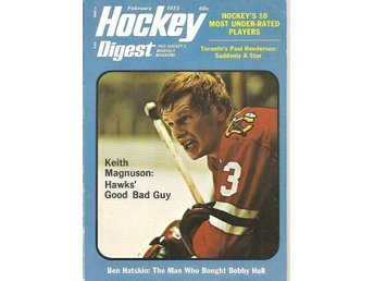 HOCKEY DIGEST 1973 (1/4) Feb - Pro Hockey's Monthly Magazine