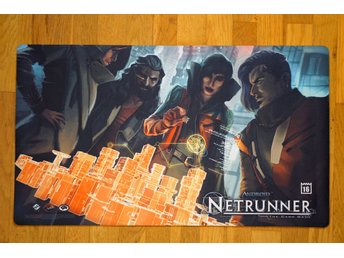 Android Netrunner Play Mat - Run Amok - Store Championships 2016