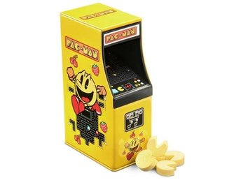 Namco Pac-Man Arcade Machine Mini Godis Arkad 17g Tin Samlarobjekt