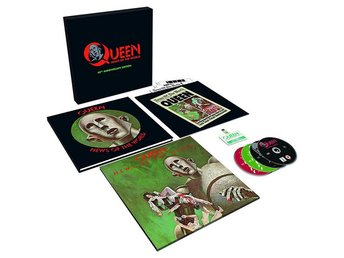 Queen: News of the world (40th anniversary) (Vinyl LP + 3 CD + DVD)