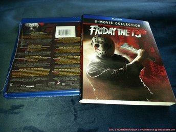 FRIDAY the 13th: 8-Movie Collection (BLU-RAY BOX) Jason Voorhees (Fredagen 13e)