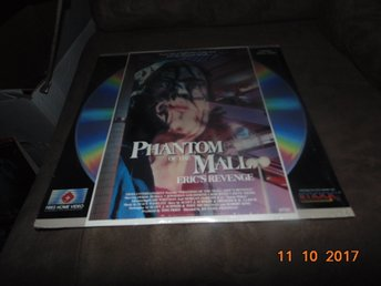 Phantom of the Mall - Eric's Revenge - 1st laserdisc
