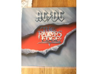 AC/DC LP The Razors Edge 1990 Tyskland