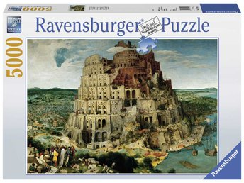 Ravensburger Babels Torn 5000 bitars Pussel